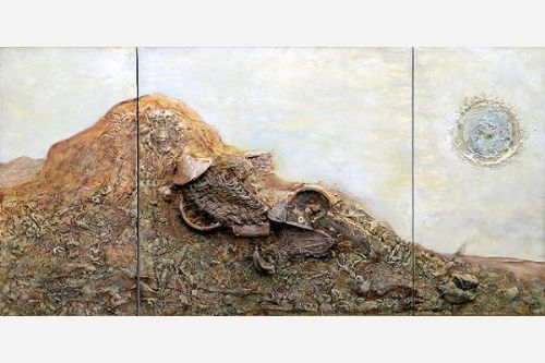 Fossil-Triptych